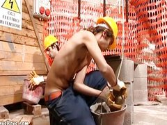 Nasty Young Gay Got Fucked At Work